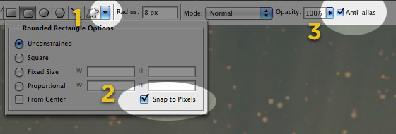 photoshop interface things