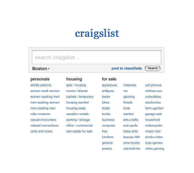 search post craigslist
