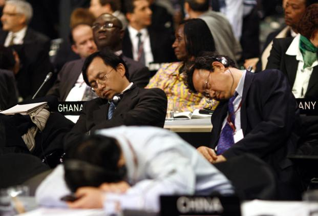 Sleepy Parliament