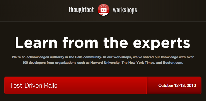 thoughtbot workshops