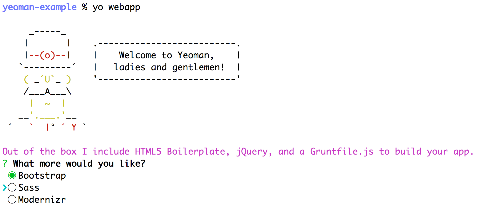 Getting Started with Sass, Bourbon, and Neat with Yeoman