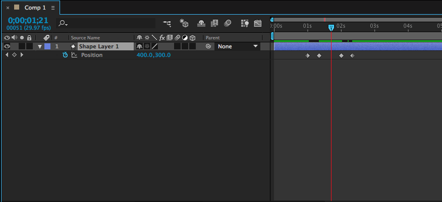how to delete a keyframe in after effects