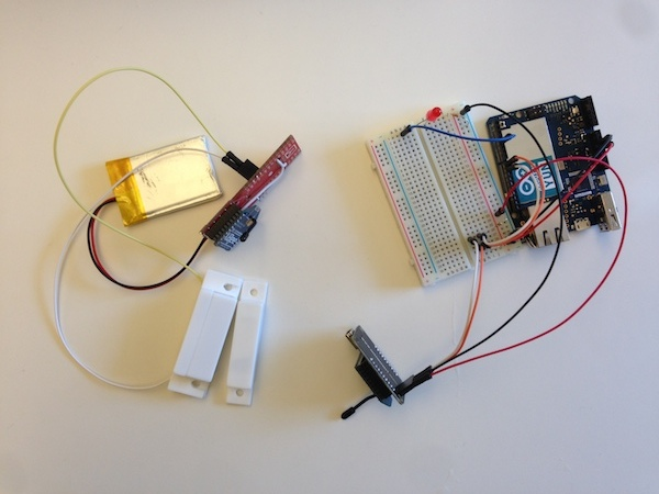 Arduino-Based Bathroom Occupancy Detector