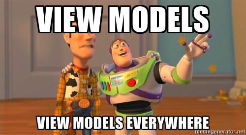 view model meme