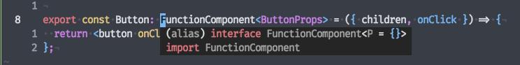 screenshot of coc documentation tooltip