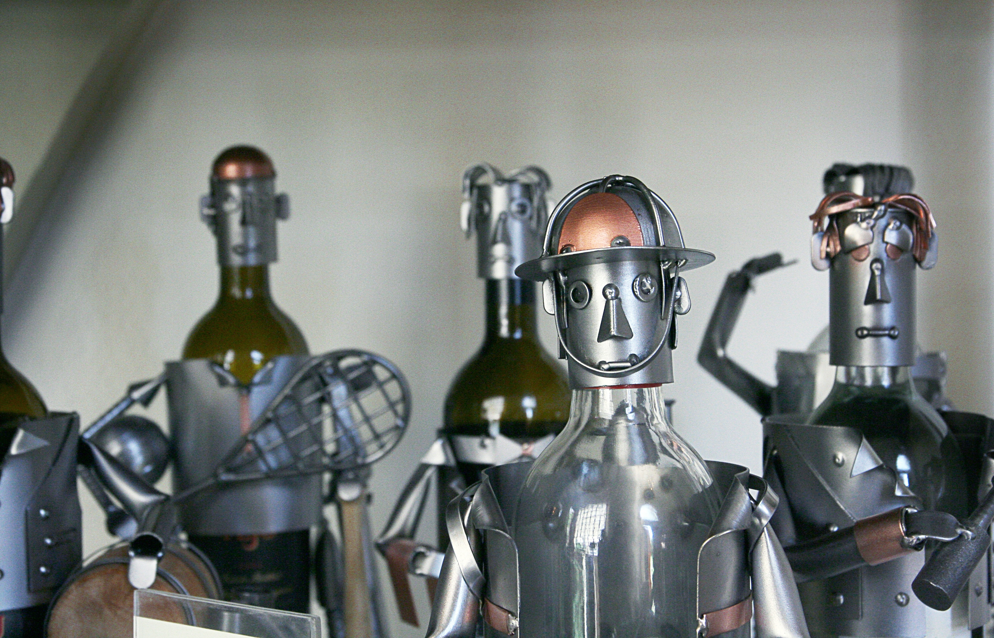 Group of tin robots