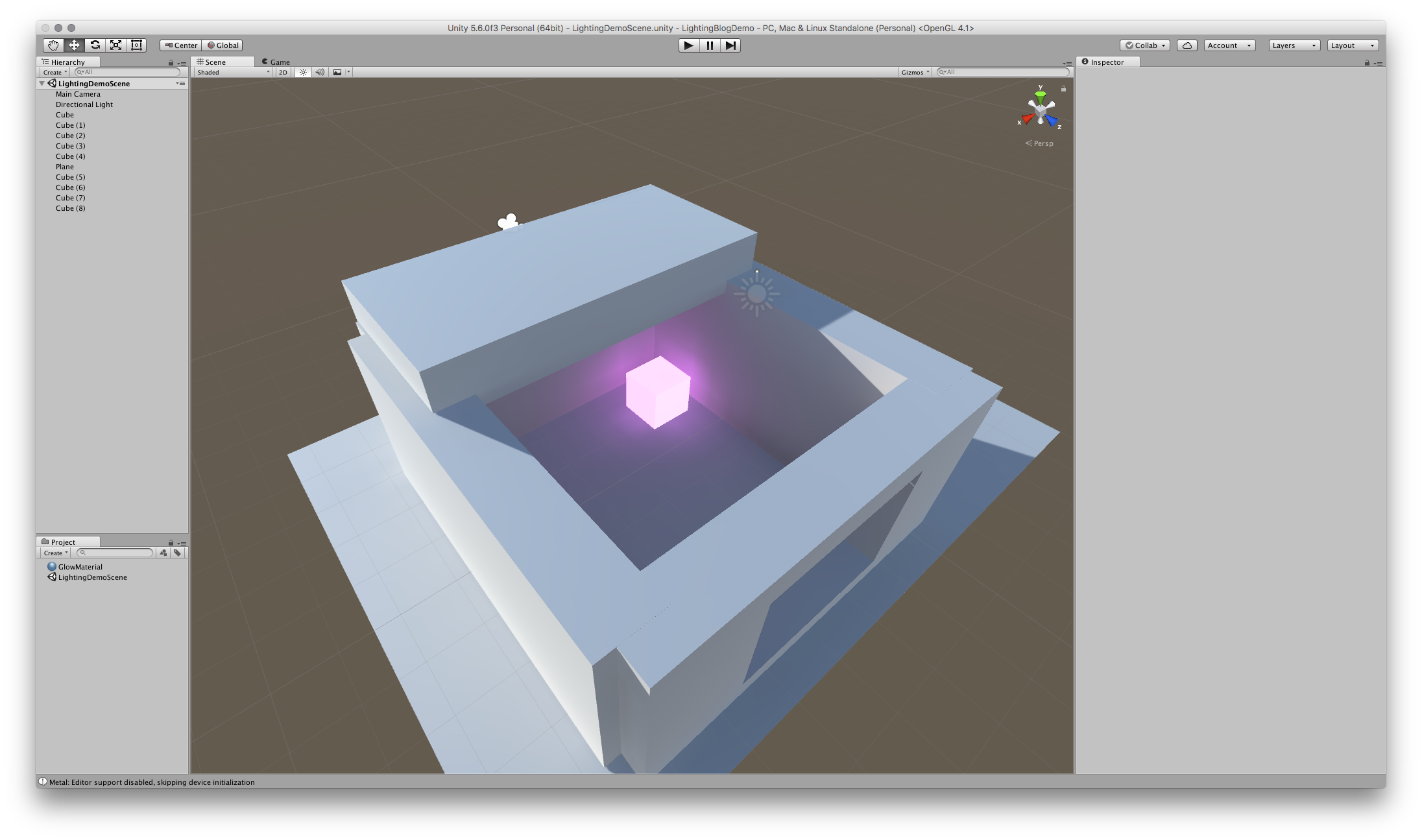 Unity Lighting Basics