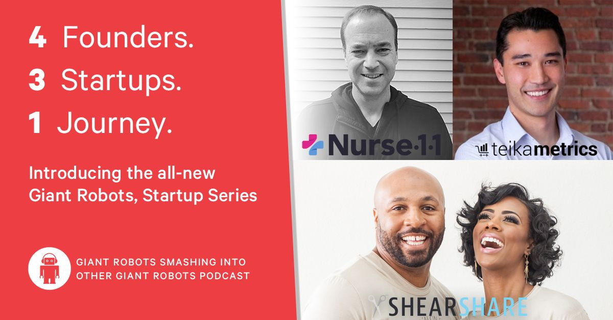 Founders in the startup series