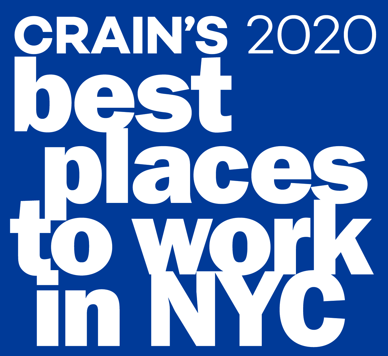 Crain's Best Place to Work NYC Logo