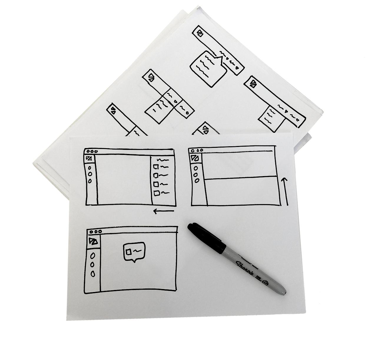 Divergent Sketching