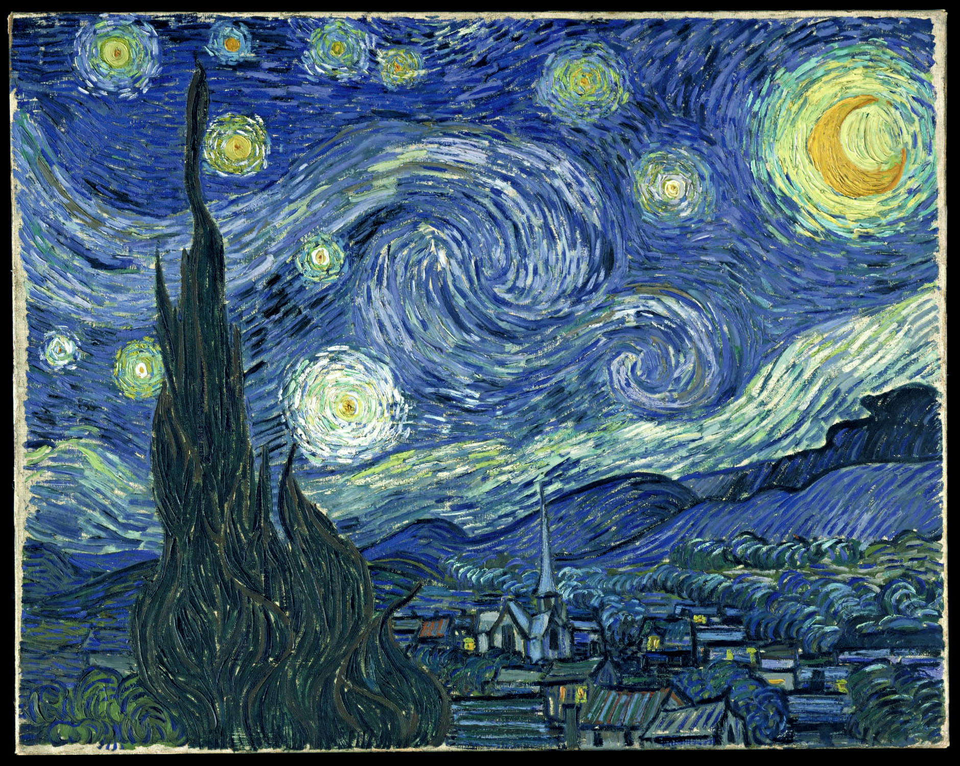 Van Gough Starry Night