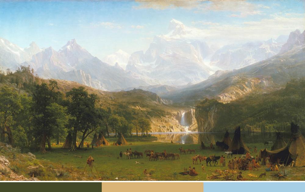 Yosemite Valley by Bierstadt
