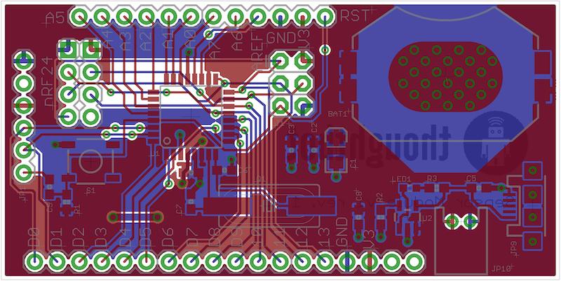 Sensor Board PCB