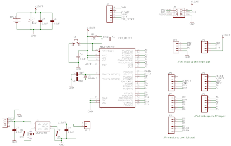 Sensor Board Schematic