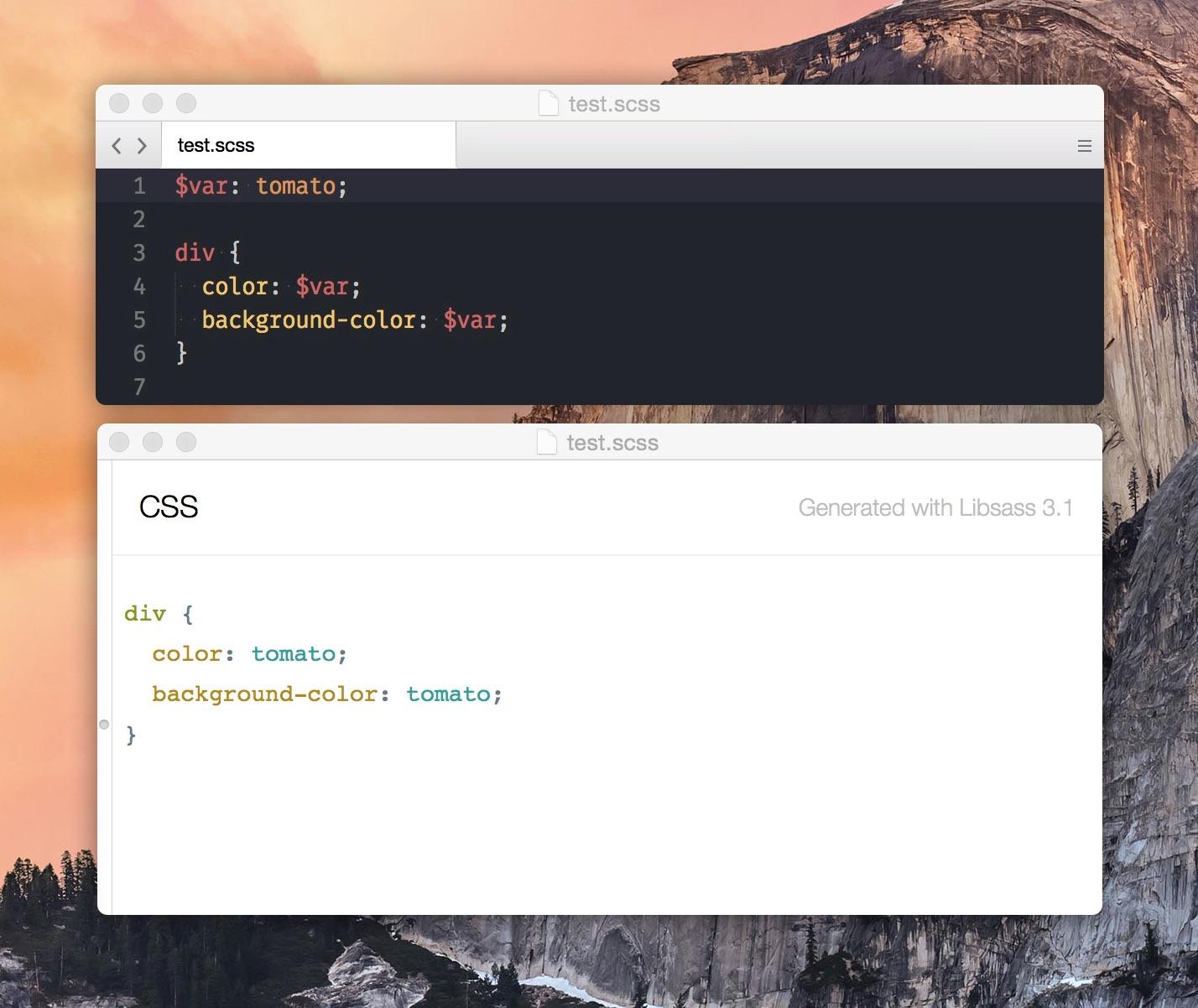 Announcing Sassquatch: A Zero-setup Sass Previewer for OS X