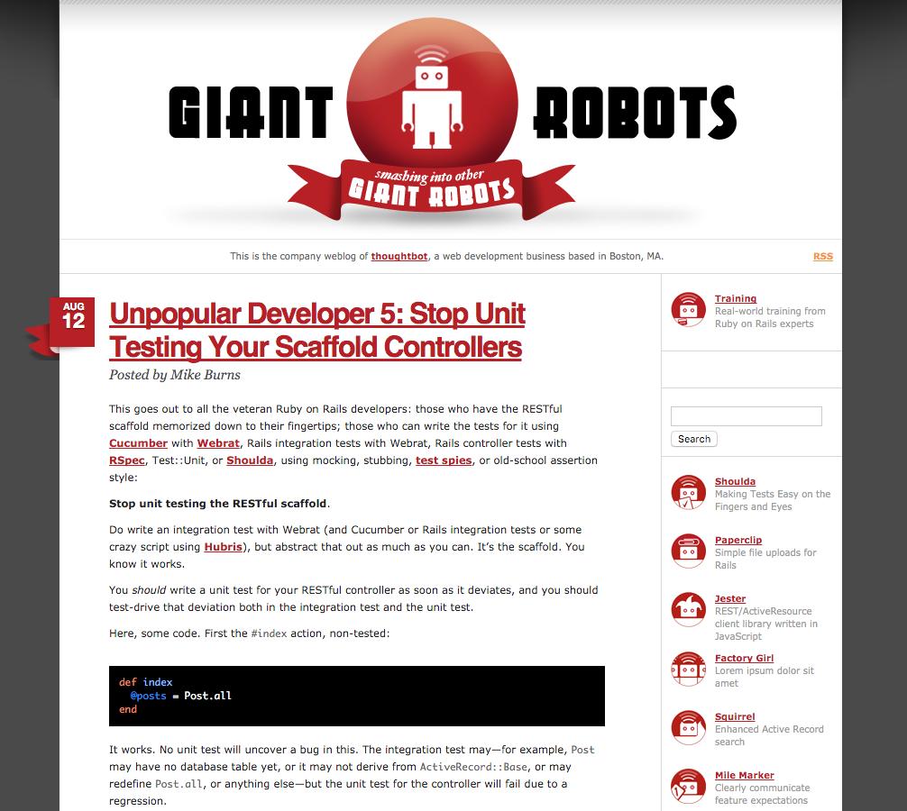 2008 blog