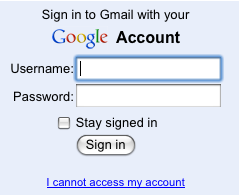 Sign Up, Sign In, Sign Out